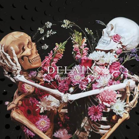 DELAIN - HUNTER'S MOON (FRONT COVER)